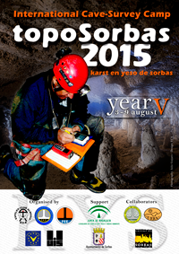 Poster del International Cave-Survey Campo - Topo Sorbas 2013